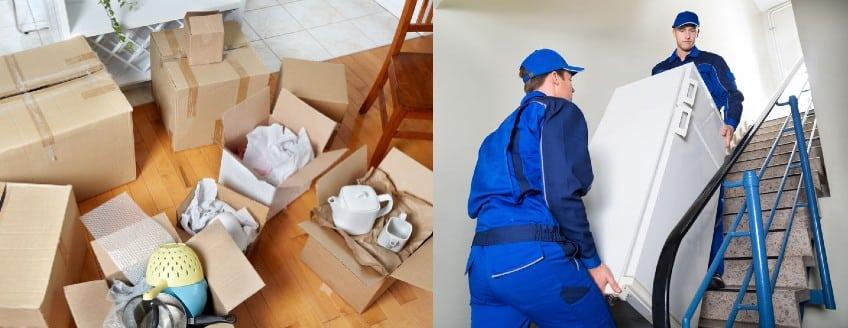 הובלות דירה או הובלות קטנות