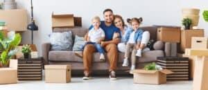 מעבר דירה של משפחה