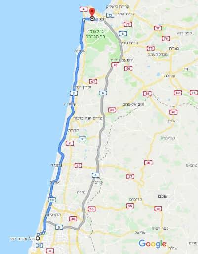 הובלות תל אביב חיפה
