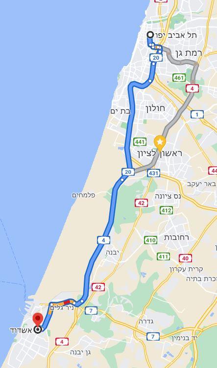תל אביב אשדוד